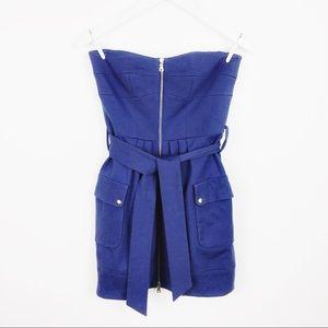 Cynthia Steffe Size 4 Strapless Tie Dress